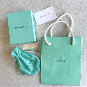 Tiffany Box, bag and pouch